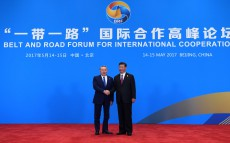 Participation in Belt and Road Forum for International Cooperation