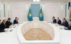 Kassym-Jomart Tokayev receives the Foreign Ministers of the Central Asian countries