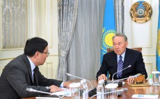 "Meeting with Yerbolat Dossayev, Chairman of ""Baiterek"" National Holding Board"