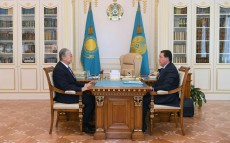 The Head of State received Prime Minister Askar Mamin