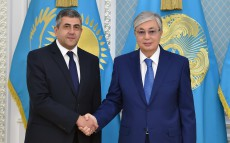 President Kassym-Jomart Tokayev met with Secretary-General of the World Tourism Organization Zurab Pololikashvili