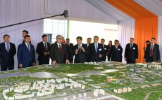 "The Head of State visited ""Saryarka"" special economic zone and ""Alfarukh"" logistics center"